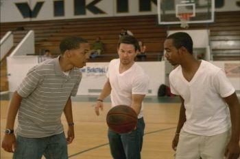 Actor Mark Wahlberg shows his commitment to the initiative on the basketball court during the Taco Bell Foundation for Teens ad.